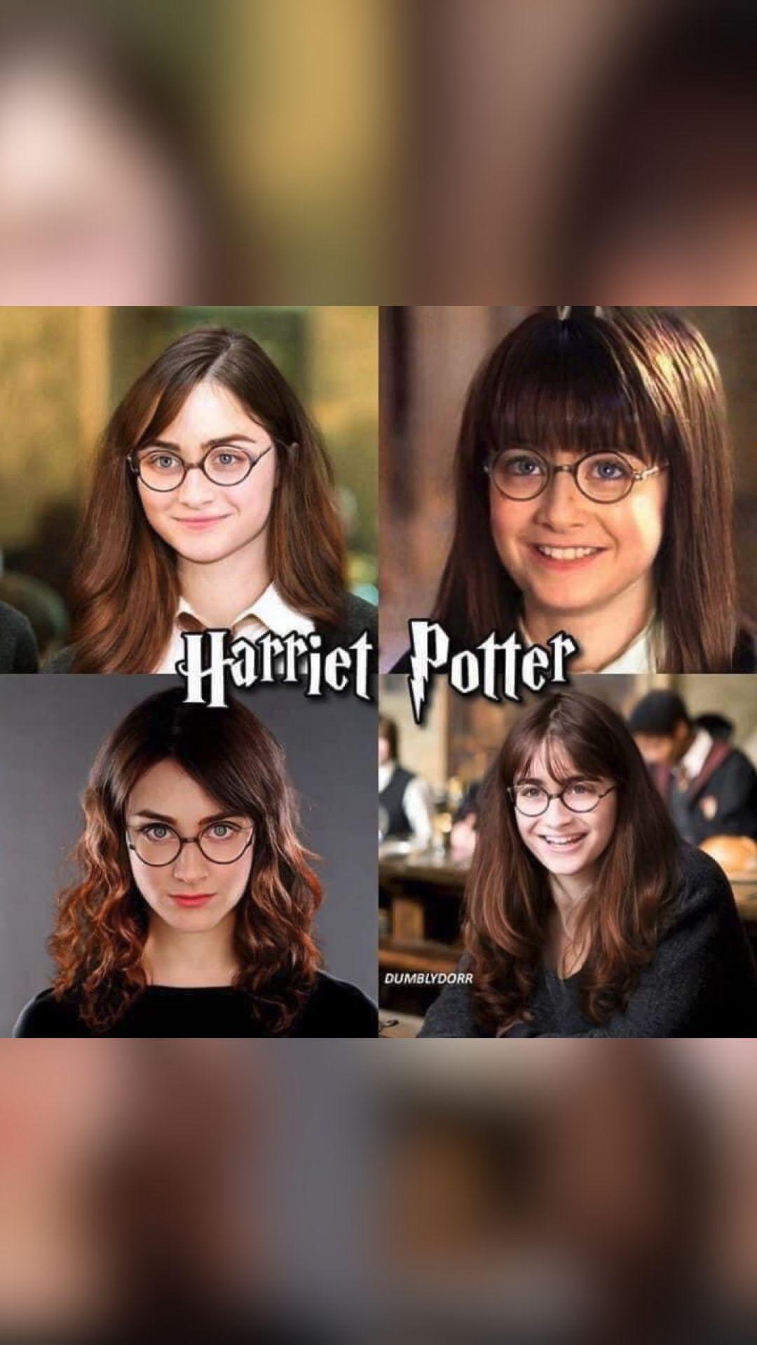 Harriet Potter 😂🤣👌