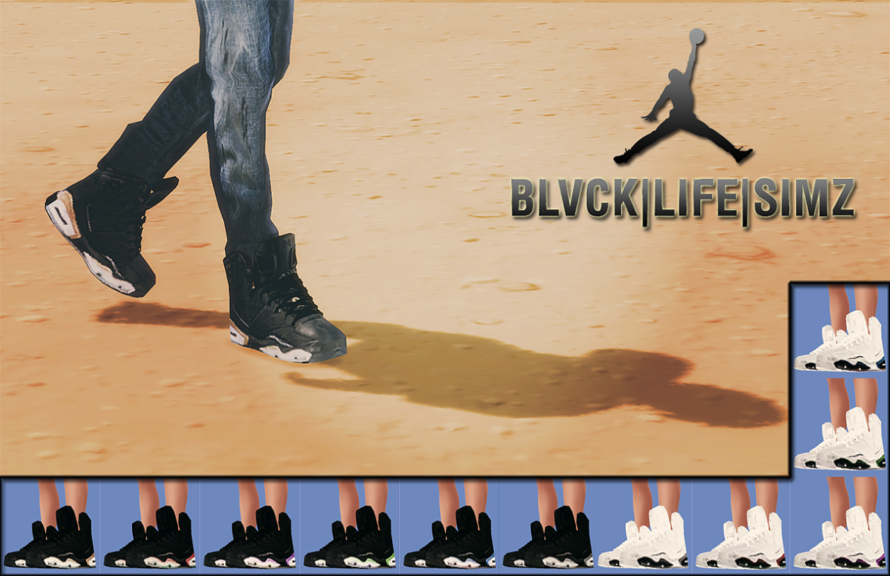 blvck-life-simz: JORDANS :: TM-EM :: Comes in 11... - Playing Sims 4