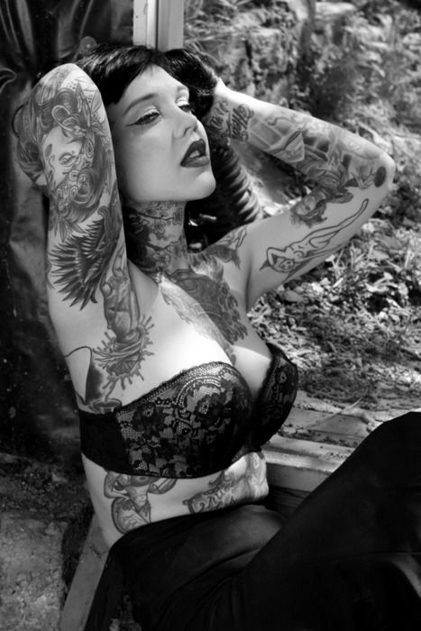 Rachel Anne Aust Sexy Nude Pics - Tattoo Models