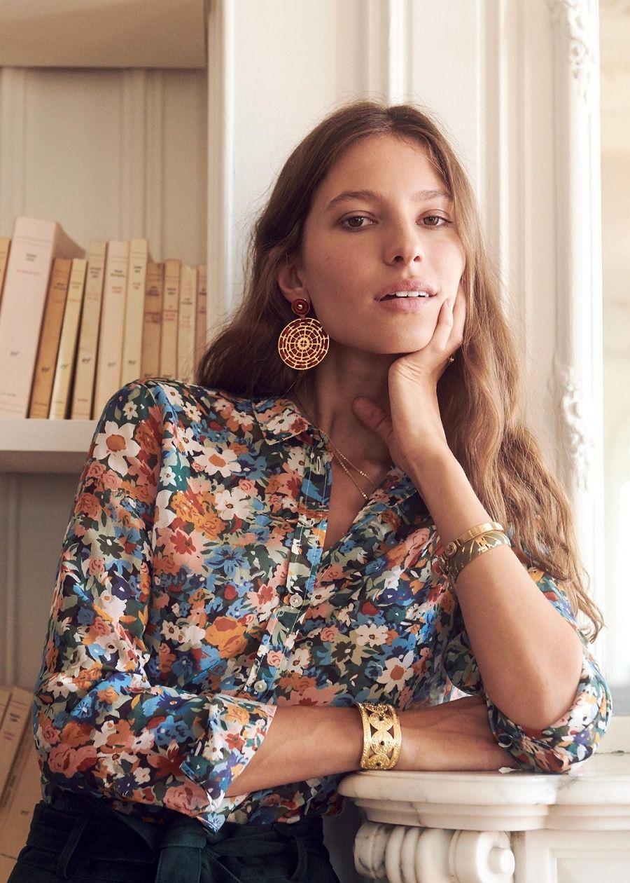 Sézane superbe #sezane #blouse #fashion | fashion | Fashion