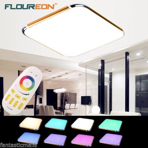 Floureon 30w Rgb Led Deckenlampe Deckenleuchte Kuchenlampe Dimmbar
