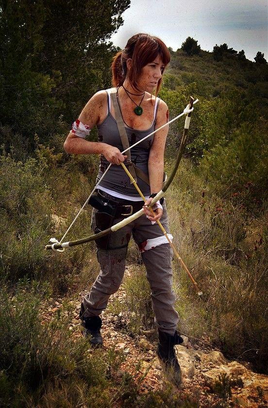Lara croft tomb raider 2013 cosplay elaine from halloween ideas - Tomb raider deguisement ...