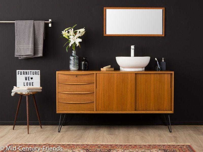 Vintage Kommoden Vintage Waschtisch Washstand 50er Sideboard