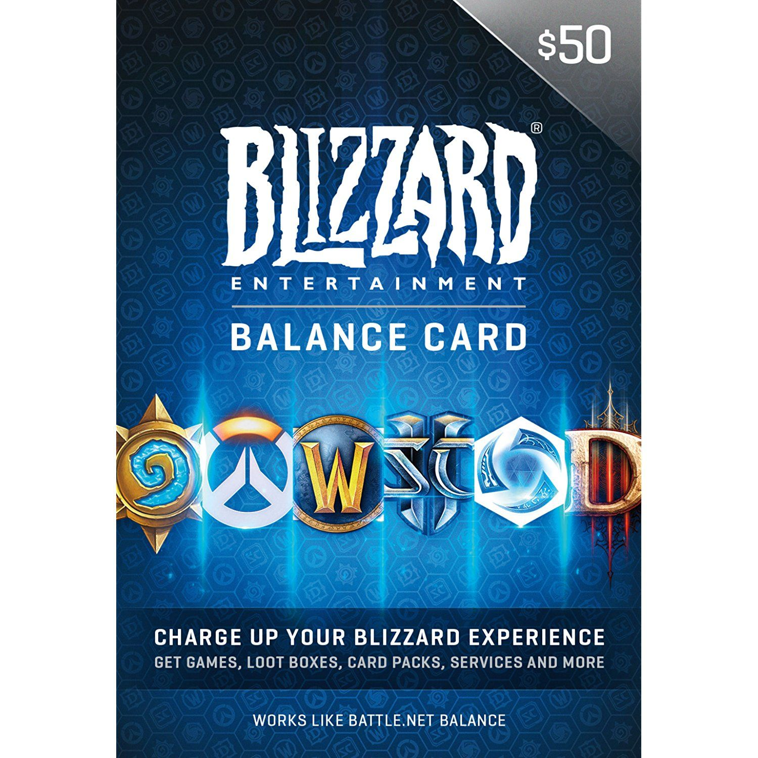 $50 Battle.net Store Gift Card Balance [Online Game Code] -- Check ...