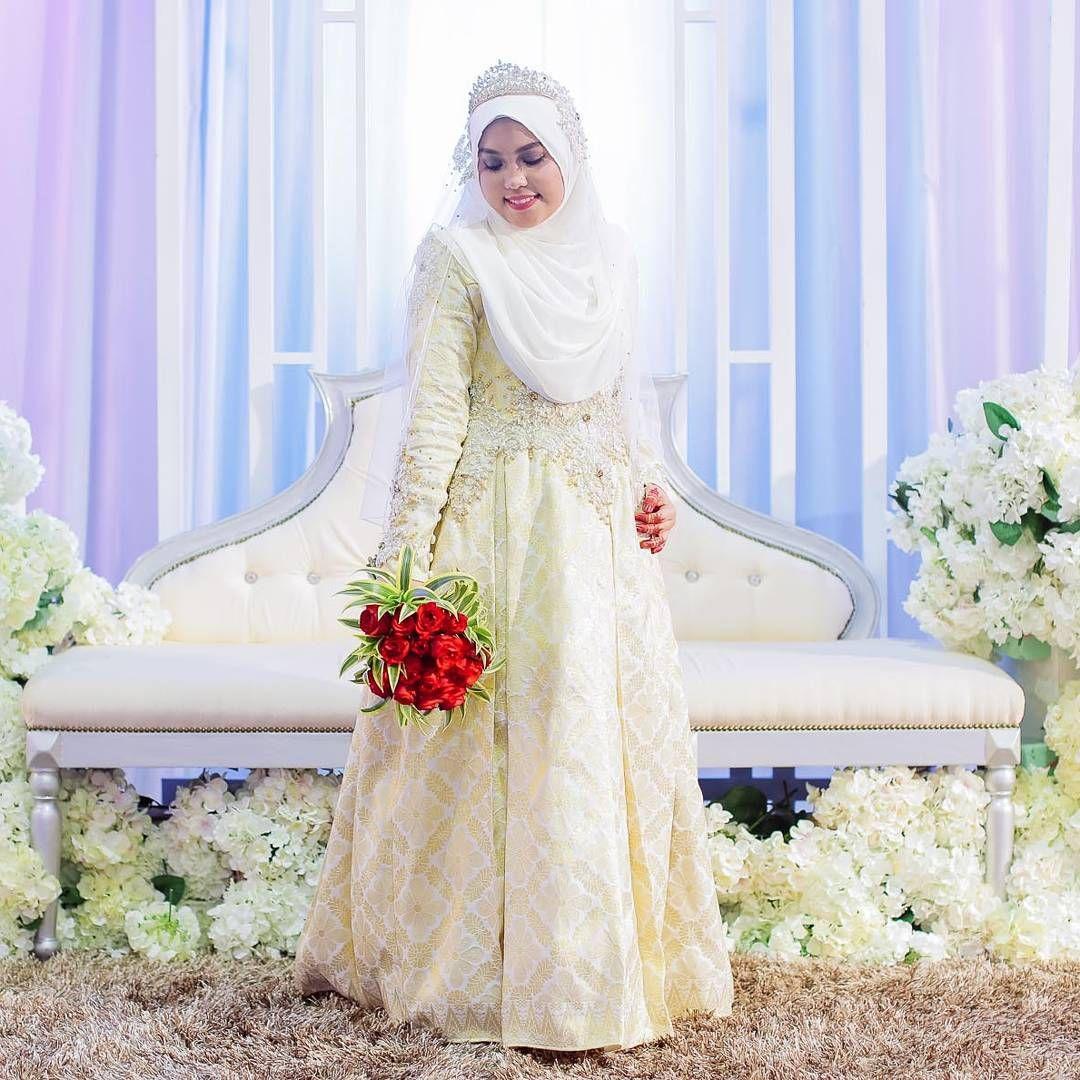 Songket Dress / Baju Sanding Songket - Busana Pengantin Custom