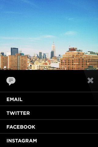 share on VSCO CAM - love the design of this app  | GUI (Great UI