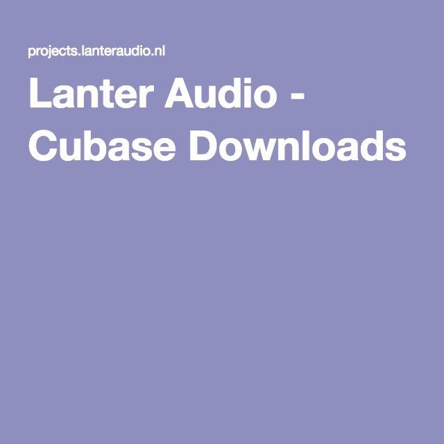 Lanter Audio - Cubase Downloads