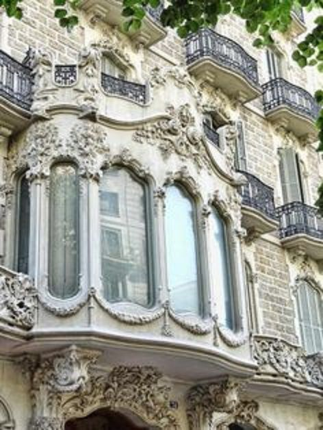 """One hears the words """"French Doors"""" utilized in America quite often, well here is some new words to try on for size; """"Parisian Bay Windows."""""""