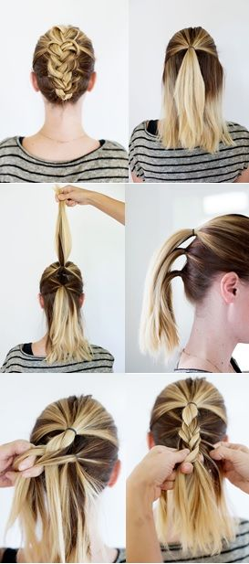 Coafuri Par Mediu 32 Medium Hair Tutorials In 2019 Hair Styles