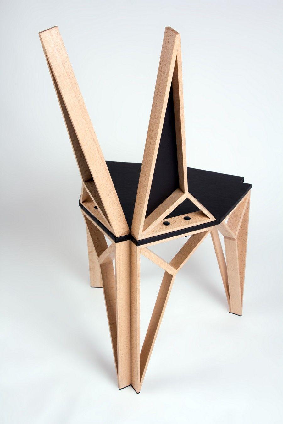 Alterego Chair 5 Aggressive Yet Sophisticated Lines Defining  # Muebles En El Puig