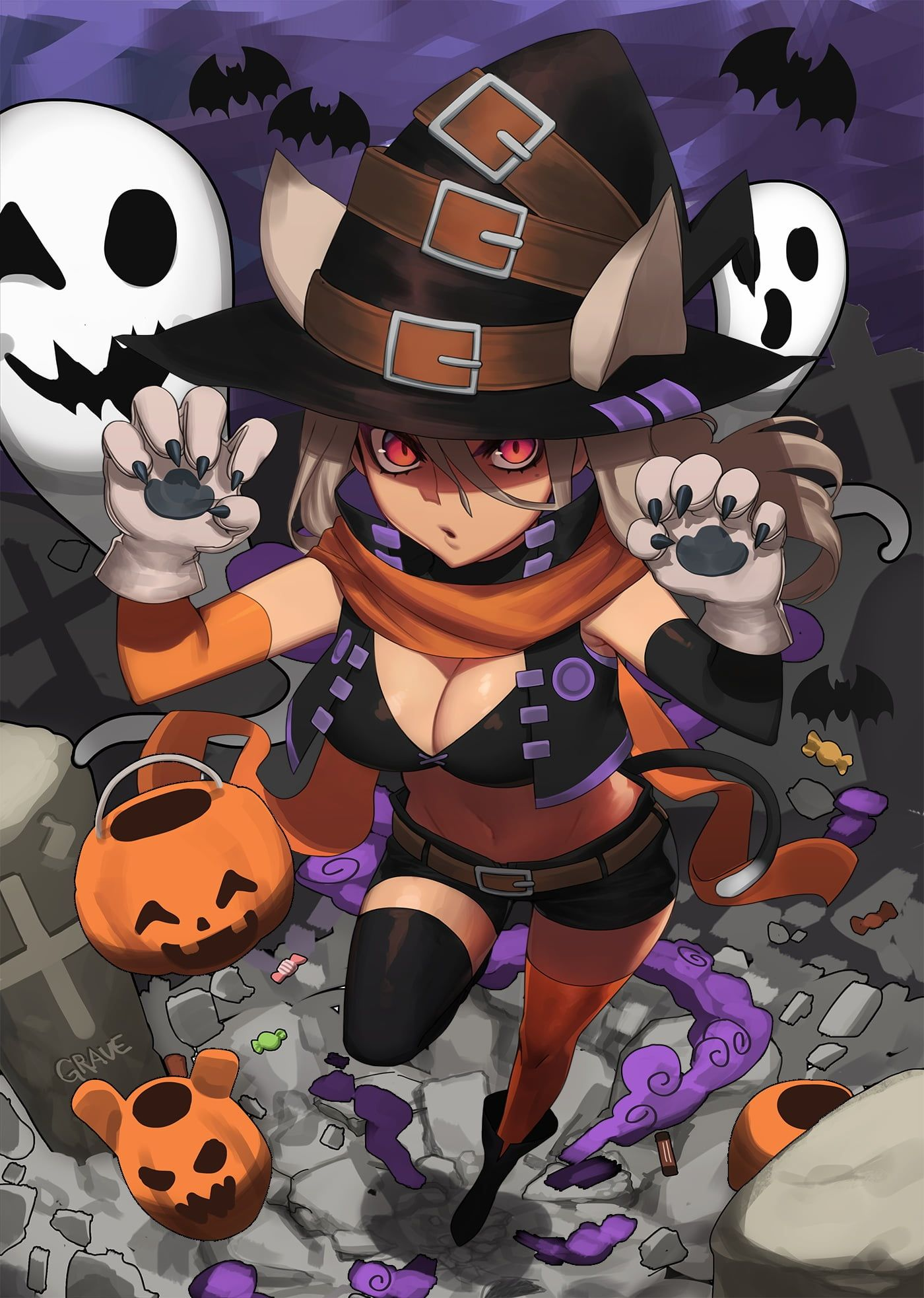 Pin by Kevin May on Pumpkin | Anime halloween, Anime