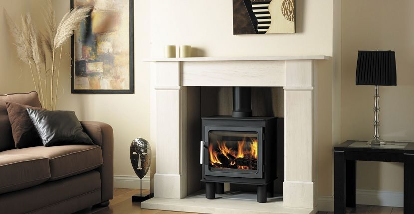 Estufas de le a una buena opci n para calentar y decorar tu casa decoraci n estufas hogar - Decoracion chimeneas de lena ...