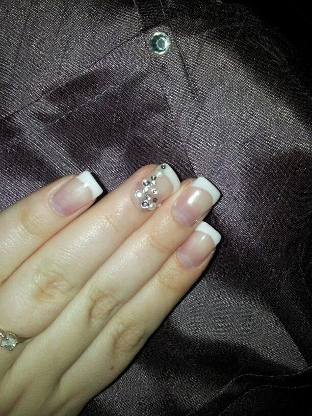 Had these nails before. Thinking might have them for my wedding