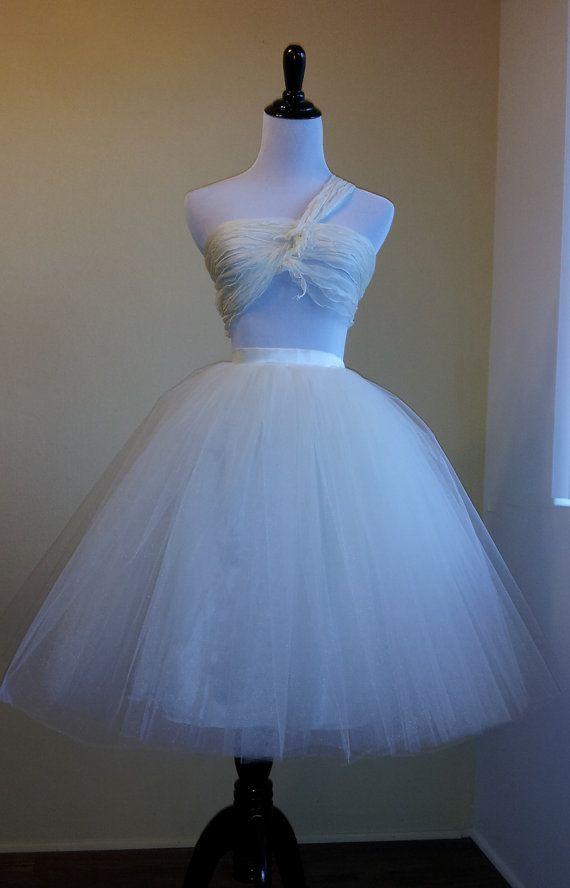 Tulle Ballerina Skirt Romantic Style - Casual Wear; Adult Tutu for ...