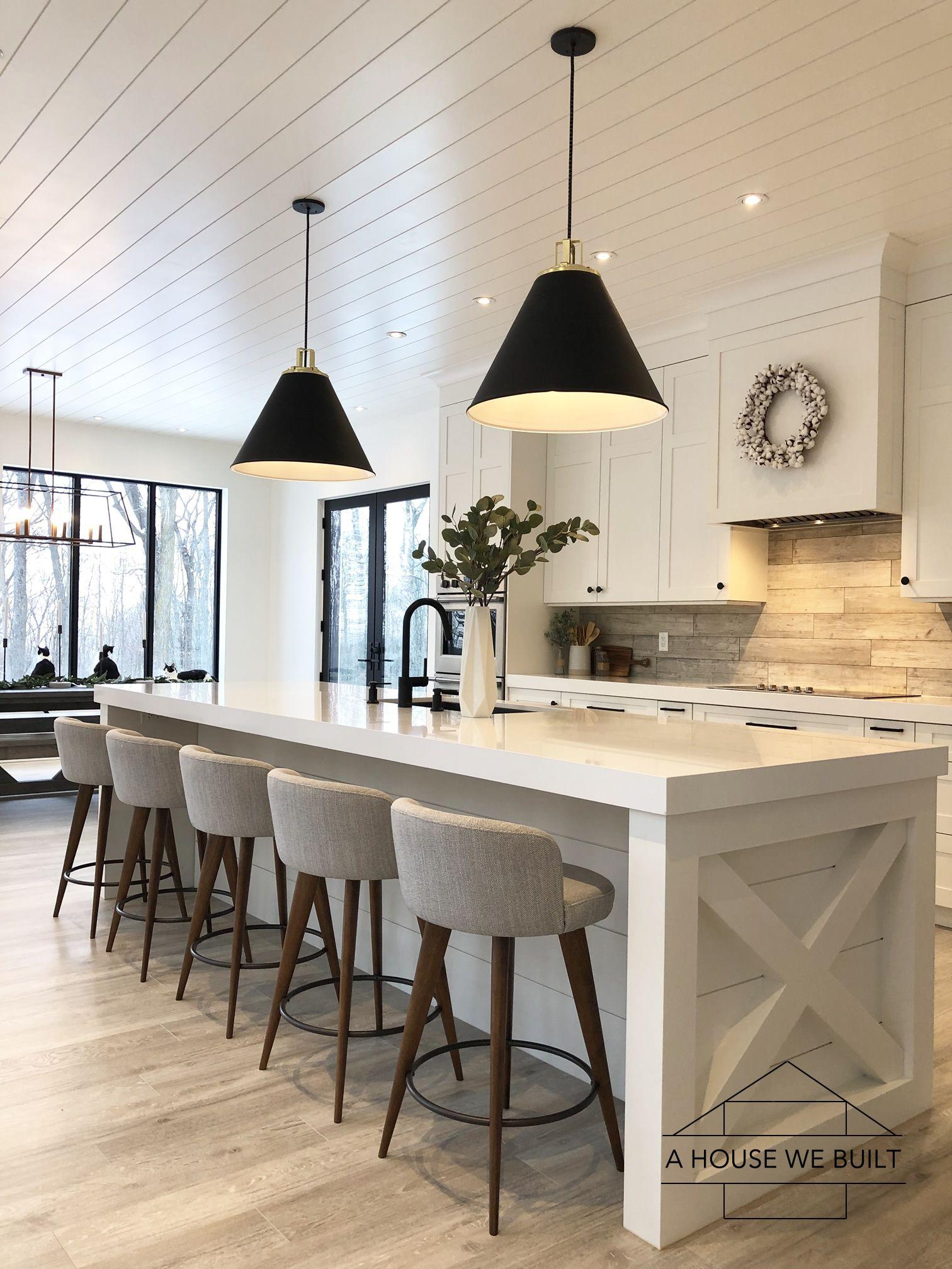 Custom House Designed by Husband & Wife Team   Modern Farmhouse Inspired