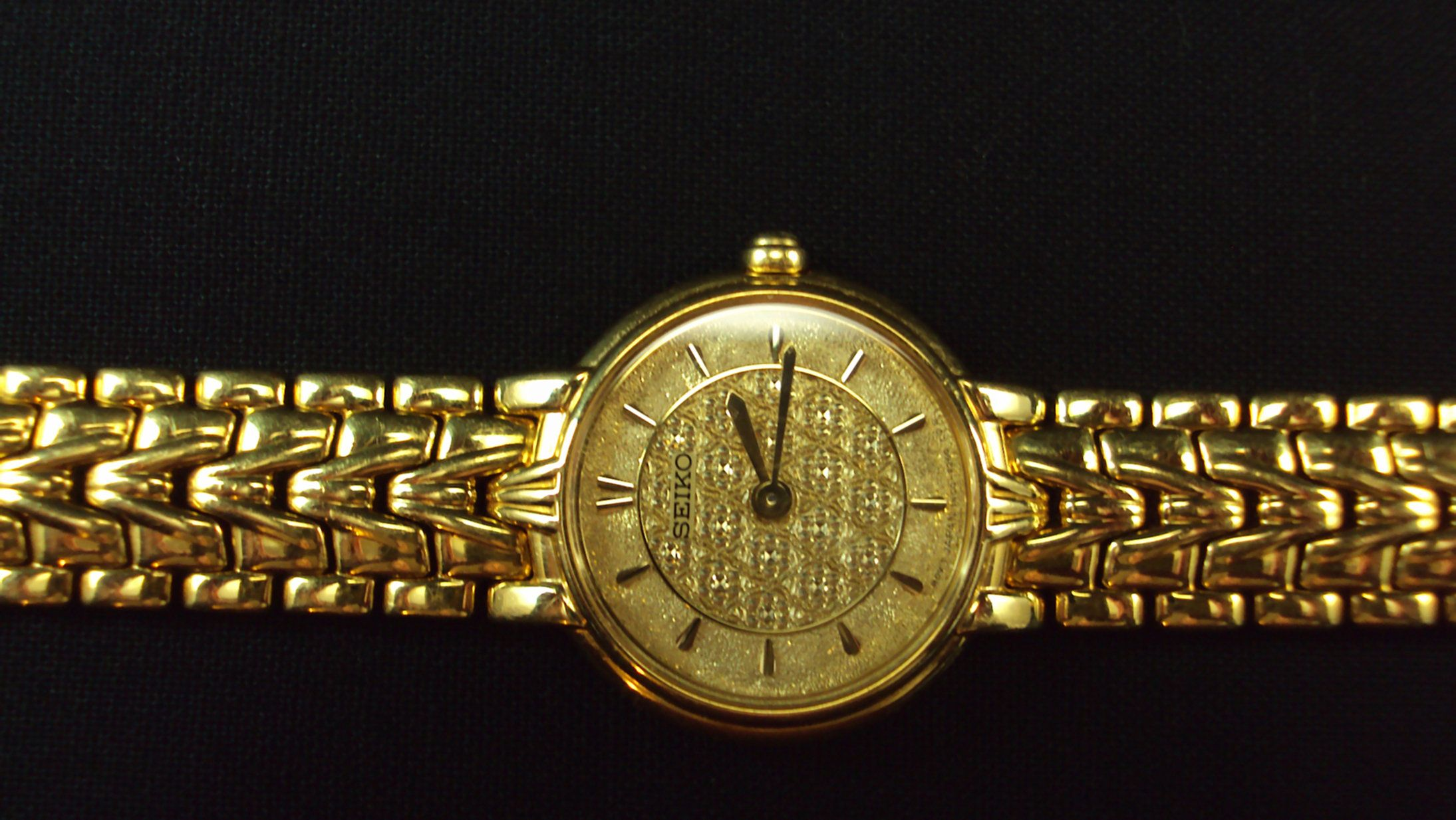 Seiko Ladies Dress Watch by MamakinsCurios on Etsy