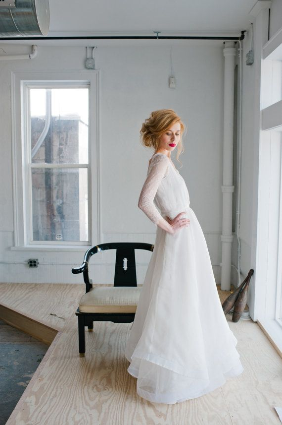Rowan Wedding Dress Handmade Bridal Dress Gorgeous Gown With