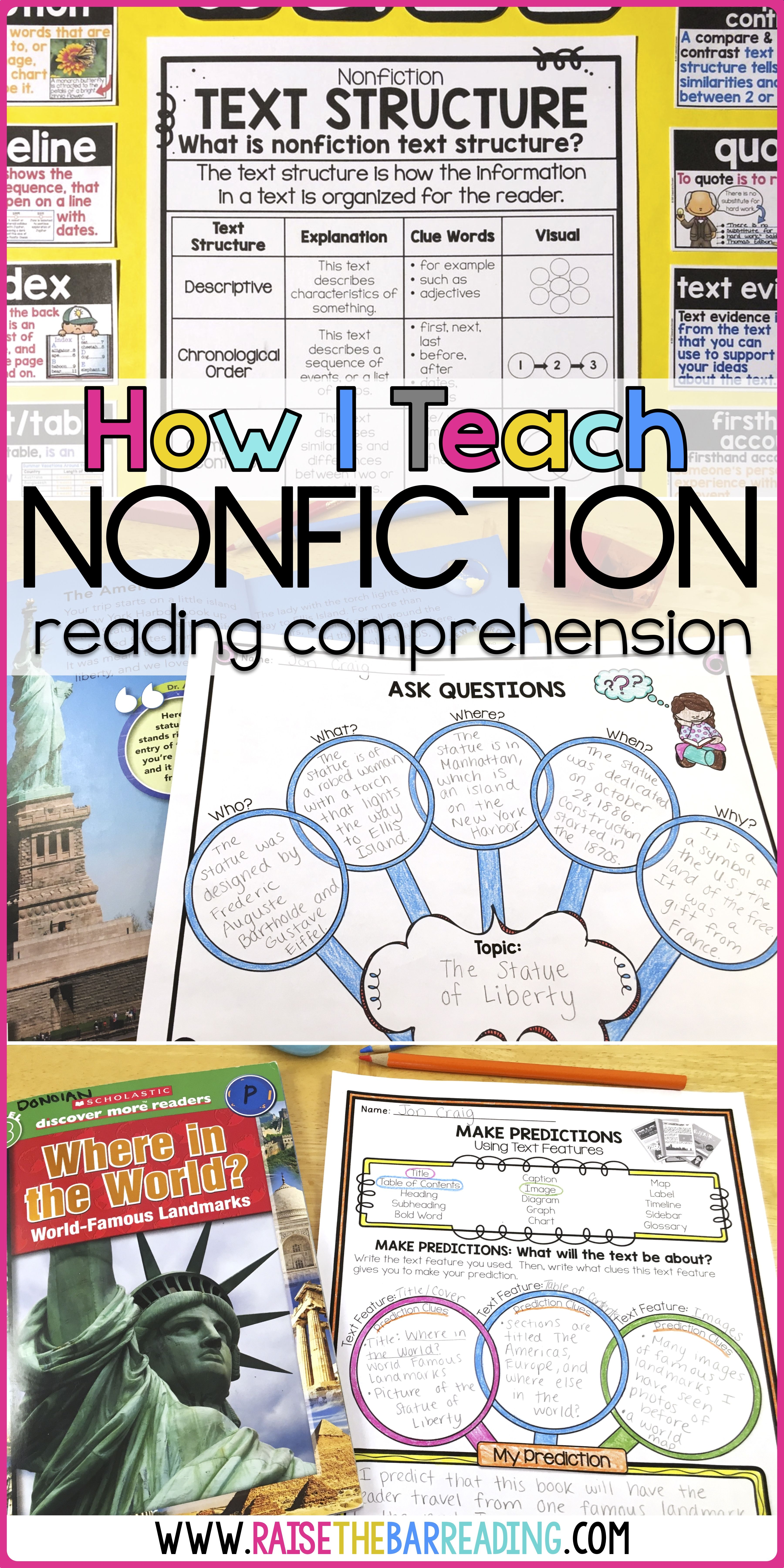 This Teaching Blog Post Describes How To Teach Nonfiction Reading Or Info Teaching Nonfiction Text Nonfiction Text Features Nonfiction Text Features Activities [ 7200 x 3600 Pixel ]