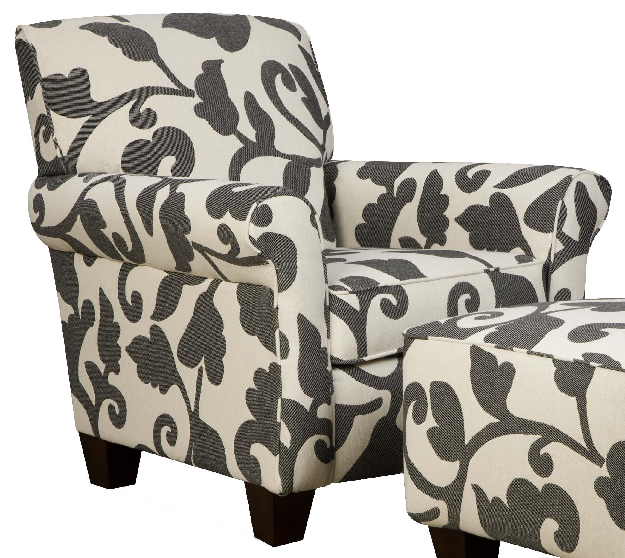 Chair To Go With Dark Gray Couch At Home Furniture Store