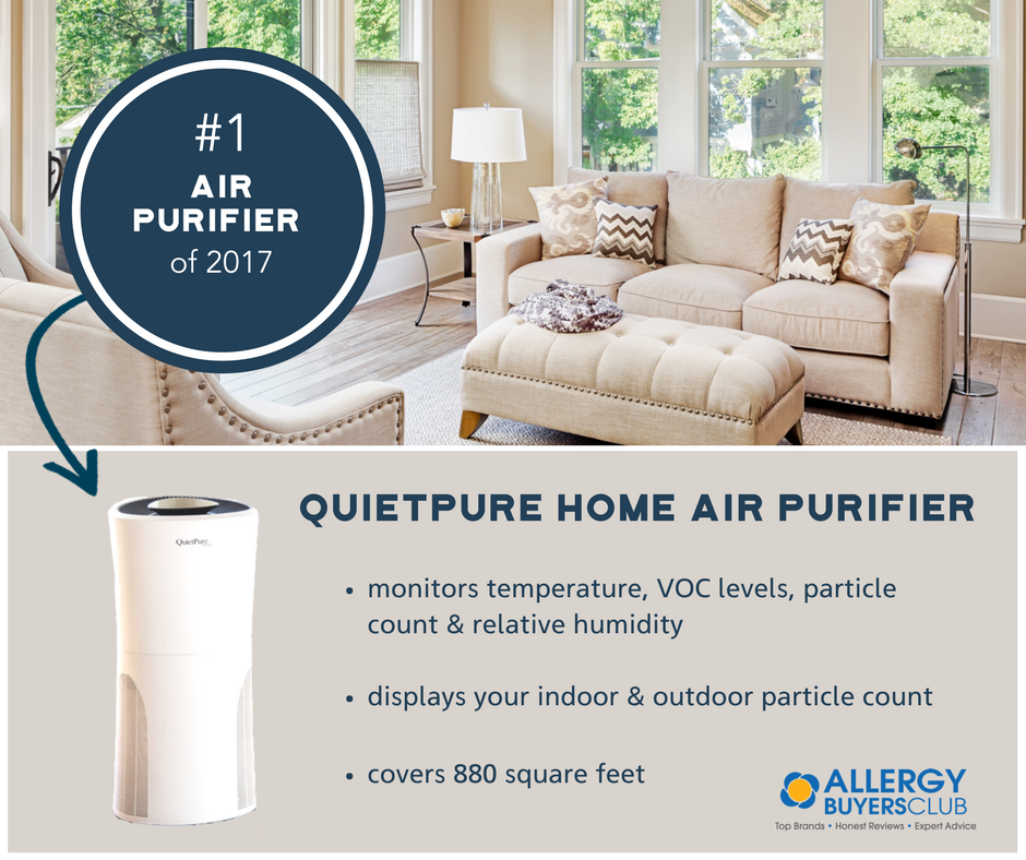 quietpure home air purifier with free quietpure whisper air purifier