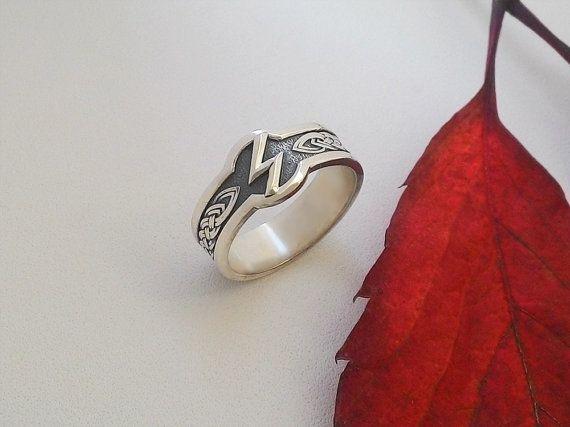 Sowilo Rune Sowulo Sowelu Asatru Nordic Runeeanings Ring Runes Vikings Jewelry Elder Futhark Viking