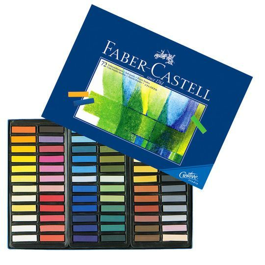 Box of 48 Creative Studio Half-Stick Soft Pastels Faber-Castell