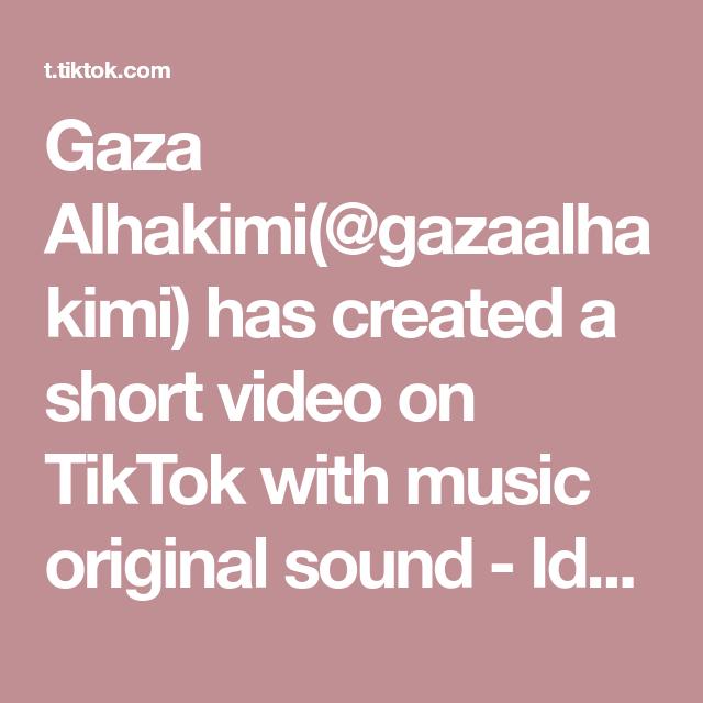 Gaza Alhakimi Gazaalhakimi Has Created A Short Video On Tiktok With Music Original Sound Id Nolet Jadiin Wallpaper Ya Fyp Foryoupage Mlbb Lik Di 2020 Video