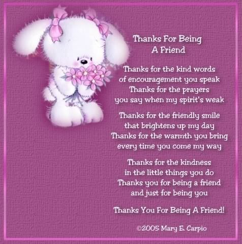 Thanks for being a friend friendship friend friendship quote ...