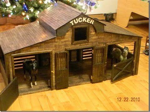room wooden horse breyer barns tack