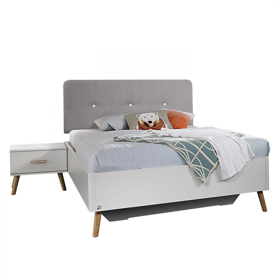 Bett in 2020 Bett, Bett 120x200 weiß und Bettgestell
