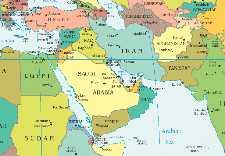 Image result for compare map of middle east before and ...