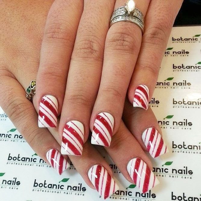 The Latest Nails Art Design Ideas For Christmas 2018 30 Nails/Eyes