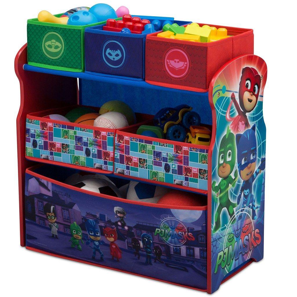 Delta Children PJ Masks MultiBin Toy Organizer