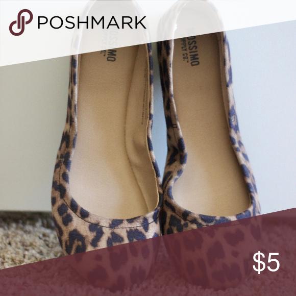 0a4dc54e6b28 Target Mossimo Leopard Print Flats Leopard print flats form Mossimo  (Target) Mossimo Supply Co. Shoes Flats & Loafers
