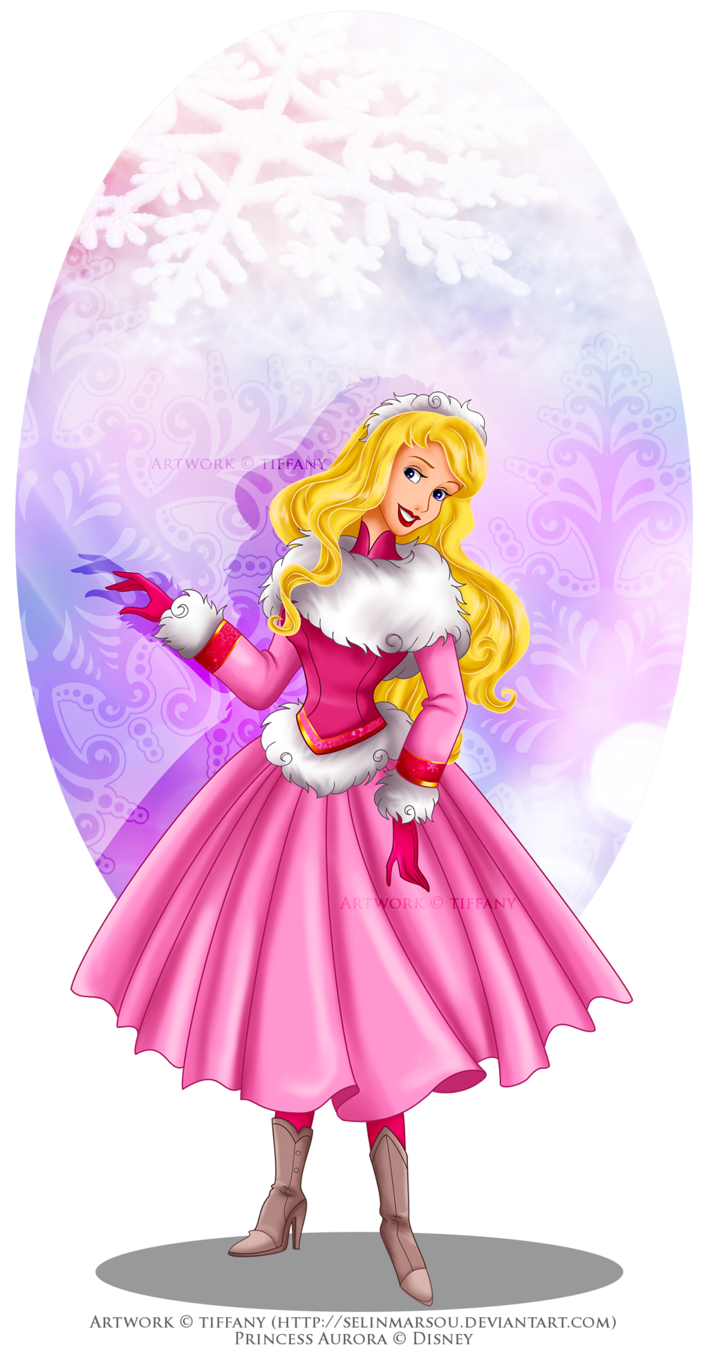 Winter Princess - Aurora by selinmarsou.deviantart.com on ...