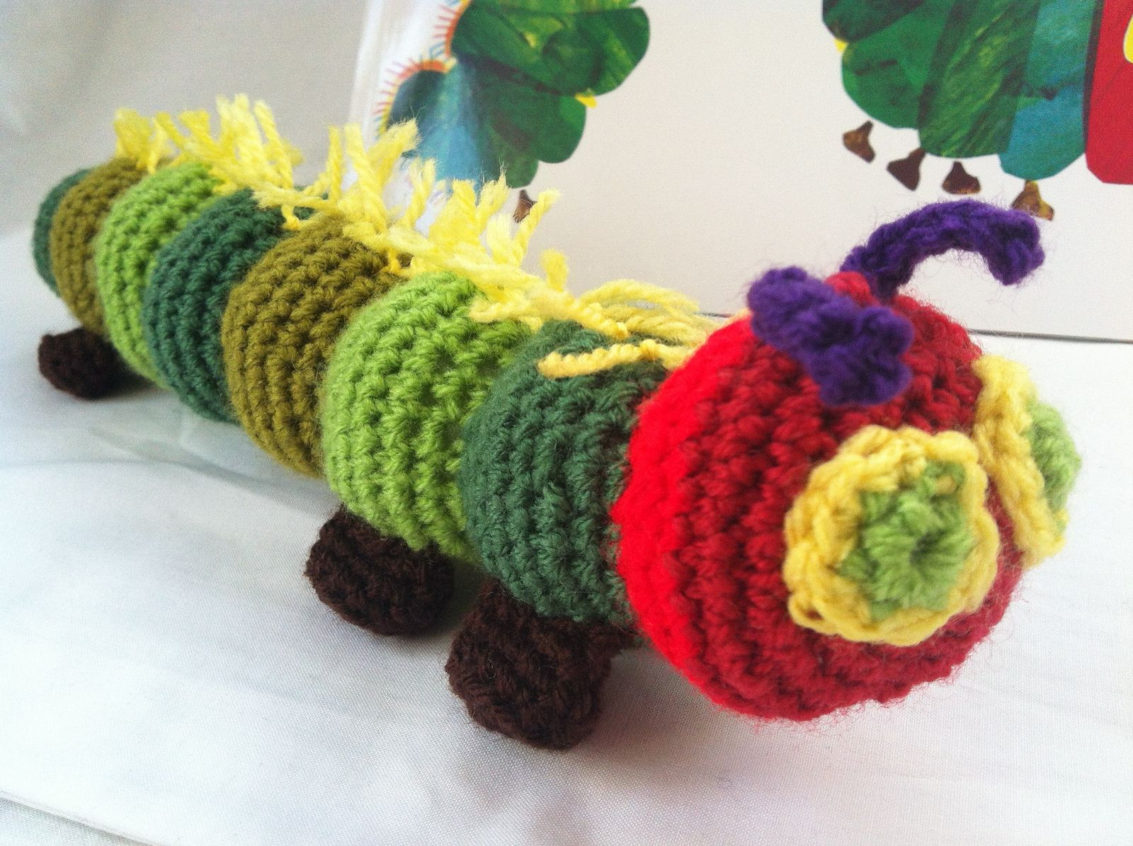 Ravelry: Very Hungry Caterpillar by Gillian Dite | crochet options ...