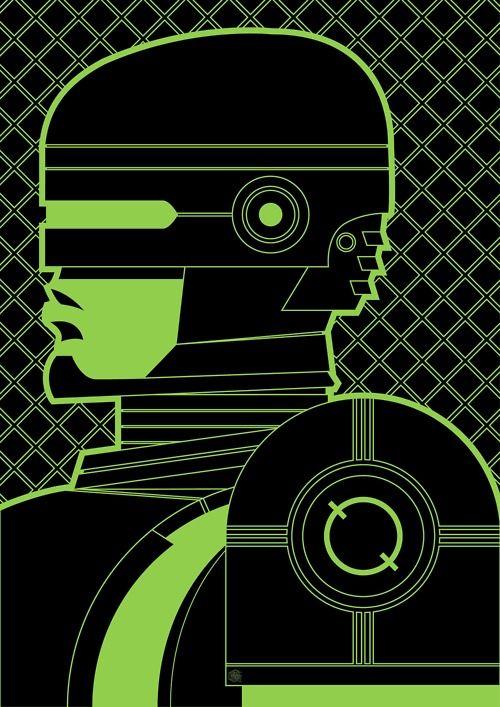 RoboCop by Jamie Roberts for Cult Cinema Sunday