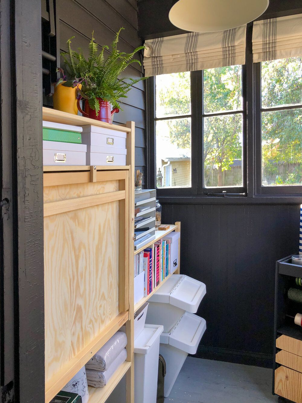 How To Turn A Small Space Into A Dream Craft Room Workspace On A Budget — T. MOORE HOME | Design, DIY, and Affordable Decorating Ideas #craftroommakeovers