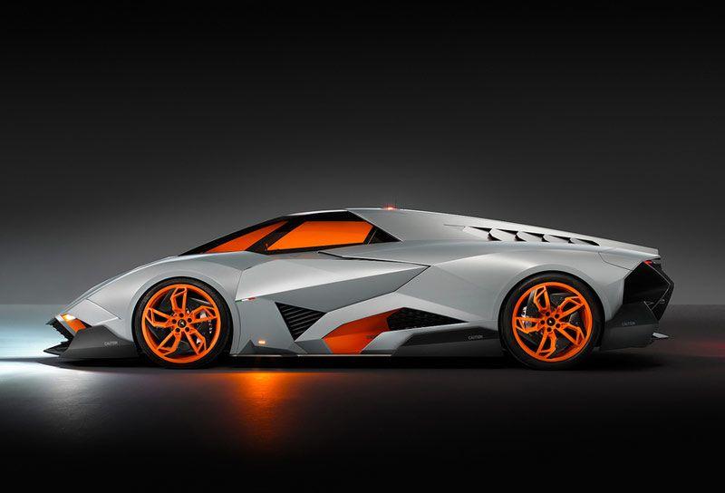 2013 Lamborghini Egoista Concept Side View