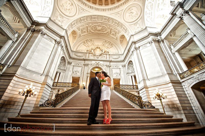 Jimmy And Josie S San Francisco City Hall Wedding Dan Johanson