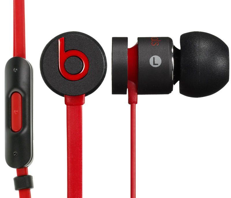 Beats By Dr Dre Original Urbeats In Ear Headphones Red In Ear Headphones Black Headphones Earbud Headphones