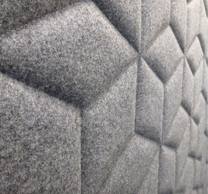 Fabric Exhibition Stand Here Alone : Quot this year saw creative developments in acoustic panels