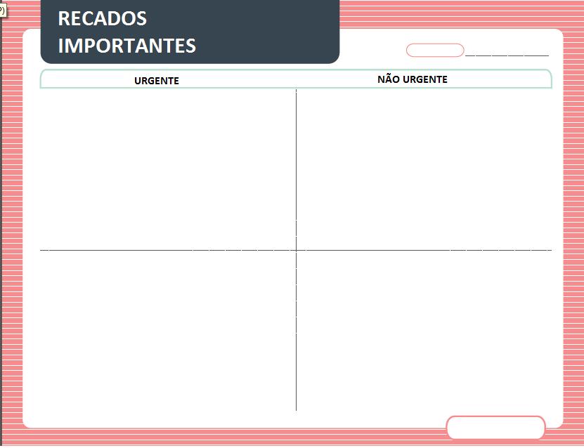 Planner de recado para imprimir gratis agenda da casa Planner websites