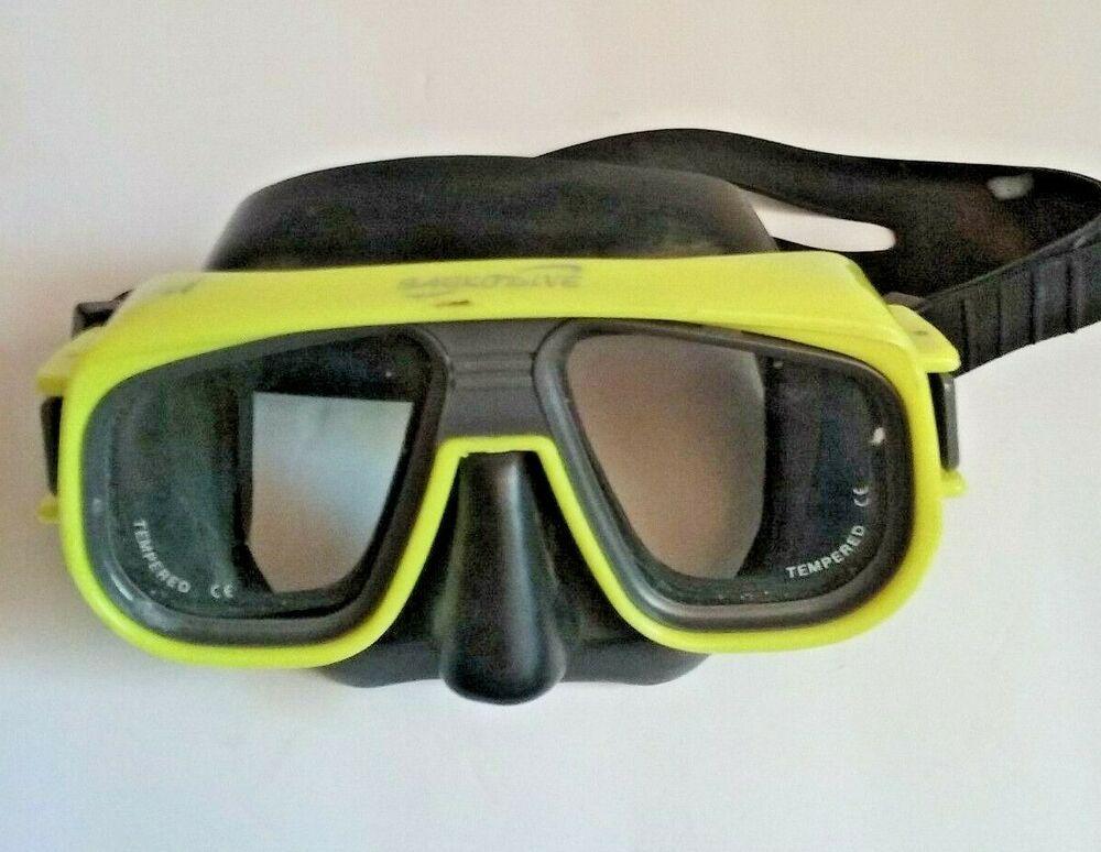 Child's Scuba Snorkeling Goggles w/Tempered Glass eBay