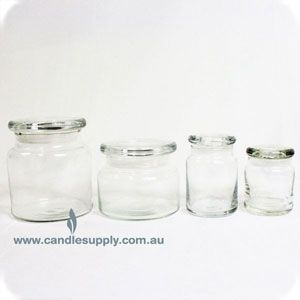 candle making jars