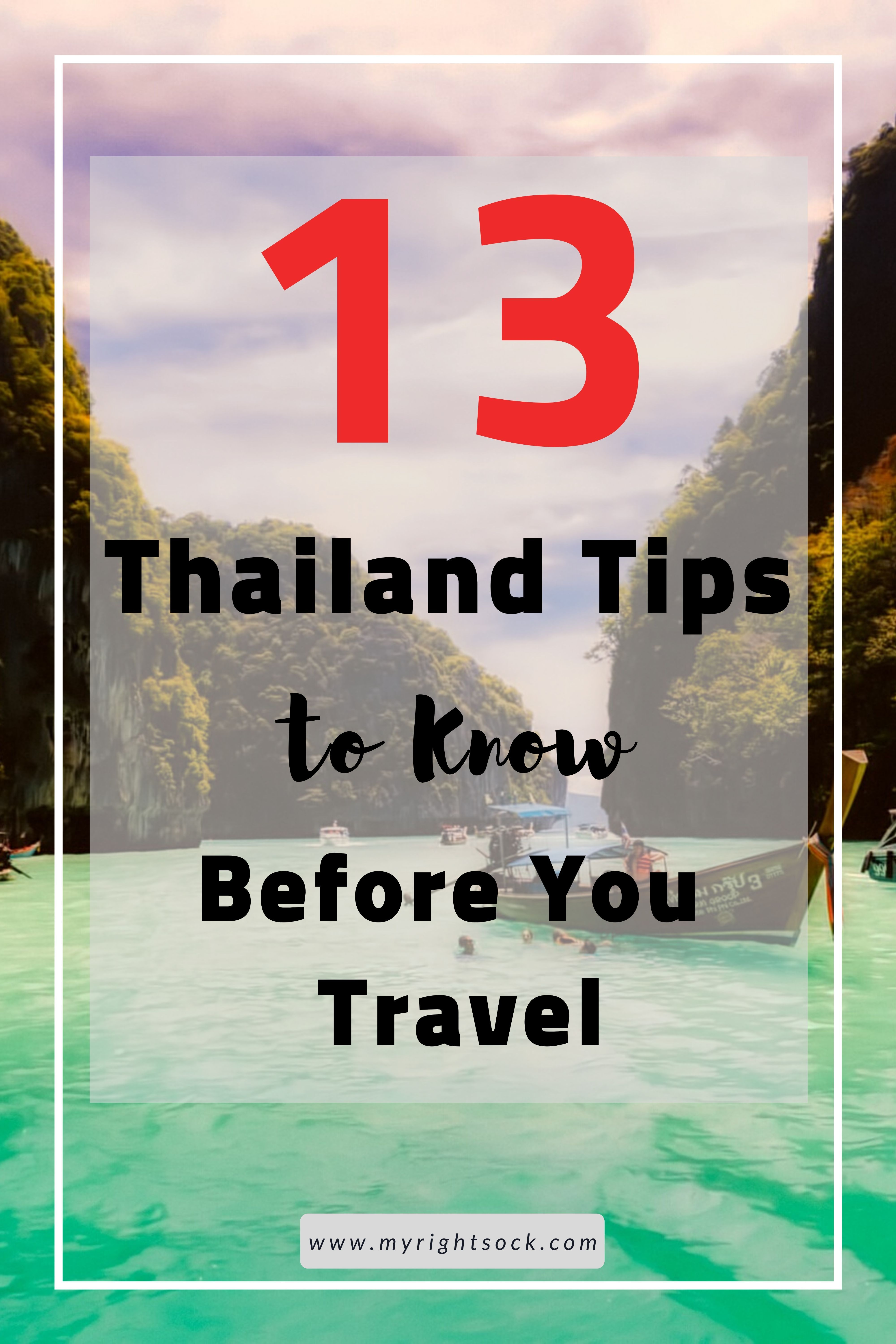 13 Thailand Travel Tips -   19 travel destinations Thailand country ideas