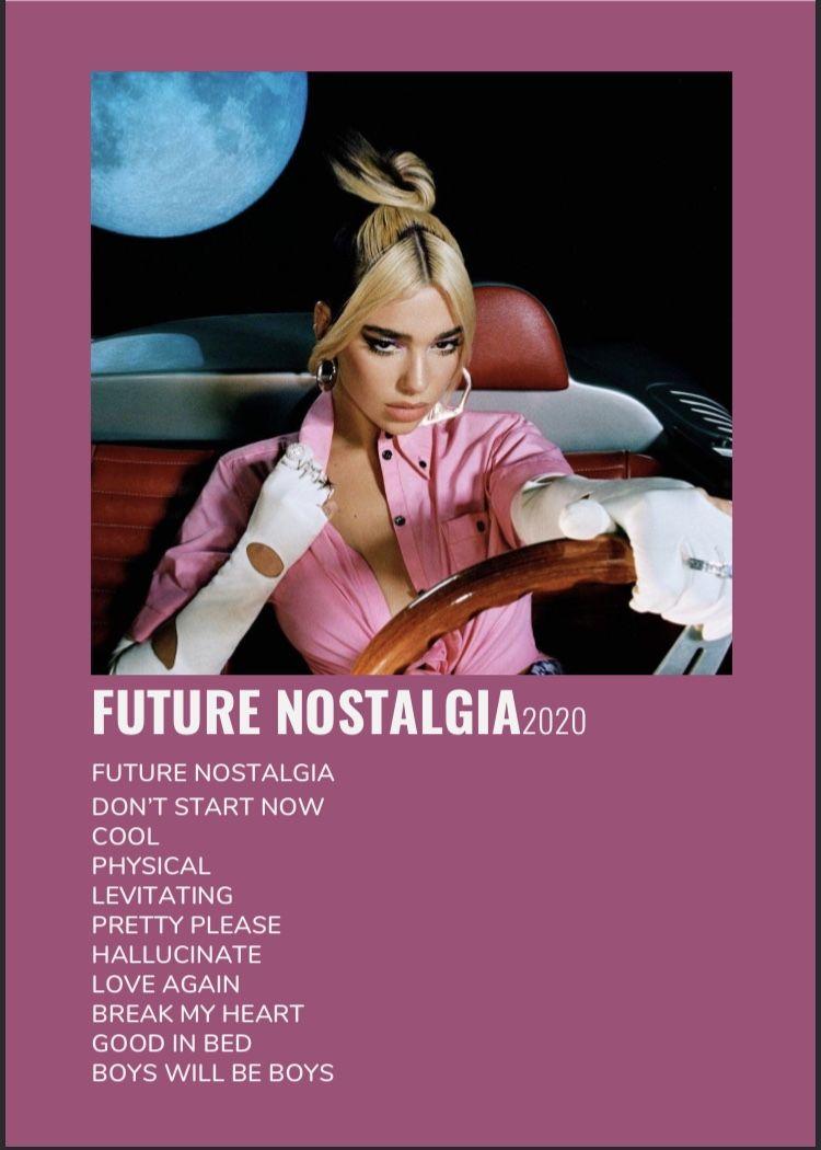 future nostalgia album poster dua