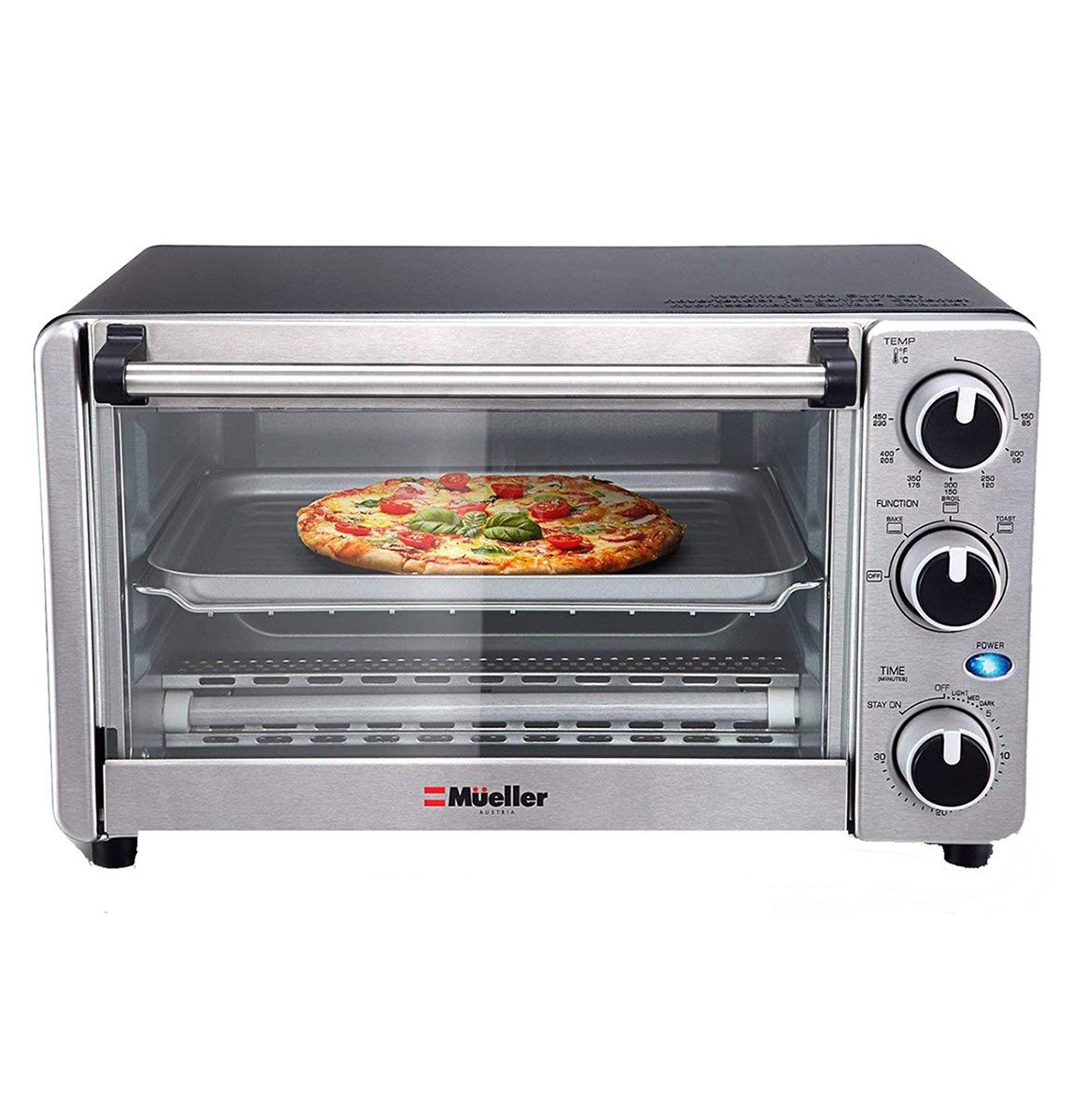 The 10 Best Toaster Ovens According To Customer Reviews Convection Toaster Oven Toaster Oven Reviews Toaster Oven