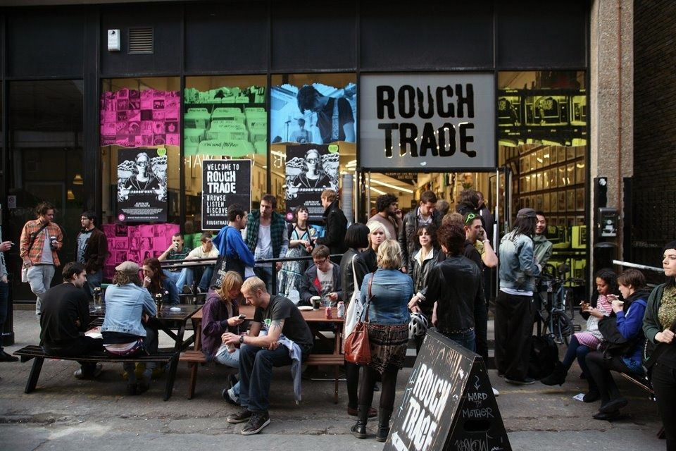 Rough Trade Record Store East London Vinyl Will Never Die Musica Viajes