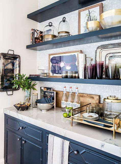 Ivory Lane Kitchen Reveal: Butlers Pantry, navy blue cabinets ... on open wooden shelving in kitchen, creative kitchen storage ideas, kitchen wall shelving ideas, cottage kitchen ideas, candice olson small kitchen ideas, open shelving kitchen shelves, open small kitchen ideas, top kitchen cabinet ideas, country kitchen shelving ideas, unique kitchen shelving ideas, kitchen cabinet shelving ideas, restoration hardware kitchen ideas, for small kitchens kitchen ideas, rustic cabin kitchen ideas, open shelving dining room, storage room shelving ideas, open kitchen shelving french kitchen, small kitchen storage ideas, open kitchen cupboards, open shelving decorating,
